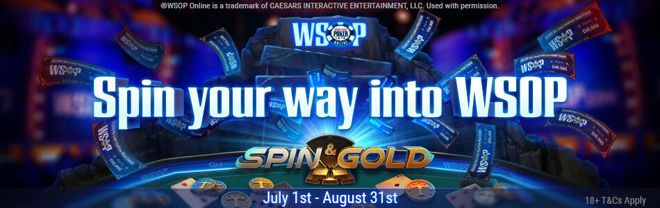 WSOP Spin and Gold